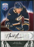 2009/10 Upper Deck Be A Player Signatures #SDV David Perron Autograph