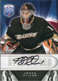 2009/10 Upper Deck Be A Player Signatures #SHI Jonas Hiller Autograph