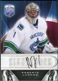 2009/10 Upper Deck Be A Player Signatures #SLU Roberto Luongo Autograph