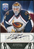 2009/10 Upper Deck Be A Player Signatures #SOP Ondrej Pavelec Autograph