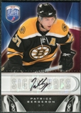 2009/10 Upper Deck Be A Player Signatures #SPB Patrice Bergeron Autograph