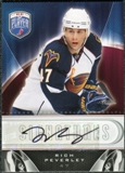 2009/10 Upper Deck Be A Player Signatures #SPV Rich Peverley Autograph