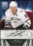 2009/10 Upper Deck Be A Player Signatures #SRC Brad Richards Autograph