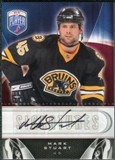 2009/10 Upper Deck Be A Player Signatures #SSR Mark Stuart Autograph