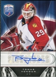 2009/10 Upper Deck Be A Player Signatures #SVO Tomas Vokoun Autograph