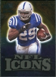 2009 Upper Deck Icons NFL Icons Gold #ICJA Joseph Addai /199