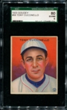1933 Goudey Baseball #99 Tony Cuccinello SGC 80 (EX/NM 6) *0019
