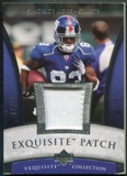 2006 Upper Deck Exquisite Collection Patch Silver #EPMO Sinorice Moss /50