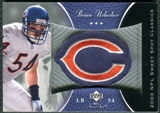 2003 Upper Deck Sweet Spot Classics Patch #PBU Brian Urlacher