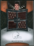2007 Upper Deck Exquisite Collection Maximum Jersey Silver #BQ2 Brady Quinn /75
