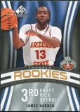 2009/10 Upper Deck SP Game Used #118 James Harden RC /399