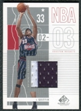 2002/03 Upper Deck SP Game Used #34 Eddie Griffin Jersey