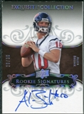 2008 Exquisite Collection Silver Holofoil #104 Alex Brink Autograph /30