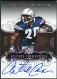 2008 Exquisite Collection Silver Holofoil #106 Antoine Cason Autograph /30