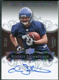 2008 Exquisite Collection Silver Holofoil #112 Owen Schmitt Autograph /30