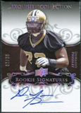 2008 Exquisite Collection Silver Holofoil #113 DeMario Pressley Autograph /30
