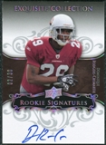 2008 Exquisite Collection Silver Holofoil #117 Dominique Rodgers-Cromartie Autograph /30