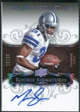 2008 Exquisite Collection Silver Holofoil #118 Mike Jenkins Autograph /30