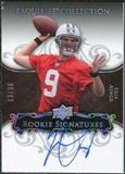2008 Exquisite Collection Silver Holofoil #120 Erik Ainge Autograph /30