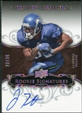 2008 Exquisite Collection Silver Holofoil #132 Justin Forsett Autograph /30