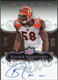 2008 Exquisite Collection Silver Holofoil #135 Keith Rivers Autograph /30