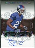 2008 Exquisite Collection Silver Holofoil #136 Kenny Phillips Autograph /30