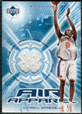2002/03 Upper Deck Air Apparel #LSAA Latrell Sprewell