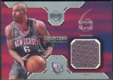 2002/03 Upper Deck Ovation Authentics Uniform #KEU Kenyon Martin