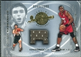2001/02 Upper Deck Inspirations #122 Alonzo Mourning Vladimir Radmanovic JSY