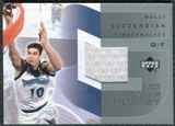2002/03 Upper Deck UD Game Jerseys 2 #GJWS Wally Szczerbiak