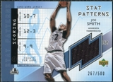 2002/03 Upper Deck Authentics Stat Patterns #SMS Joe Smith