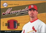 2007 Upper Deck Sweet Spot Sweet Swatch Memorabilia Patch #JE Jim Edmonds /25