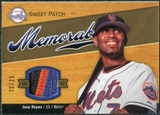 2007 Upper Deck Sweet Spot Sweet Swatch Memorabilia Patch #RE Jose Reyes /25