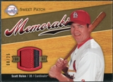2007 Upper Deck Sweet Spot Sweet Swatch Memorabilia Patch #SR Scott Rolen /25
