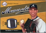2007 Sweet Spot Sweet Swatch Memorabilia Patch #TH Tim Hudson /25