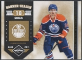 2011/12 Limited #19 Jordan Eberle Banner Season Gold Spotlight #15/25
