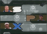 2007/08 Upper Deck SPx Winning Materials Triples #RMF Emeka Okafor Sean May Raymond Felton