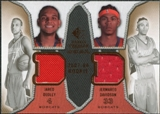 2007/08 Upper Deck SP Rookie Threads Dual #DD Jared Dudley Jermareo Davidson