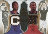 2007/08 Upper Deck SP Rookie Threads Dual #NC Wilson Chandler Demetris Nichols