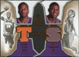 2007/08 Upper Deck SP Rookie Threads Dual #TS Alando Tucker D.J. Strawberry