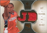 2007/08 Upper Deck SP Rookie Threads #RTJD Jared Dudley