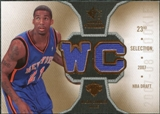 2007/08 Upper Deck SP Rookie Threads Rookie Threads #RTWC Wilson Chandler