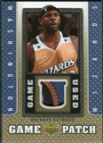2007/08 Upper Deck UD Game Patch #BH Brendan Haywood