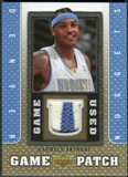 2007/08 Upper Deck UD Game Patch #CA Carmelo Anthony