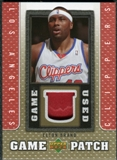 2007/08 Upper Deck UD Game Patch #EB Elton Brand