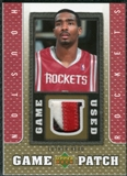 2007/08 Upper Deck UD Game Patch #HE Luther Head