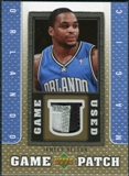 2007/08 Upper Deck UD Game Patch #JN Jameer Nelson
