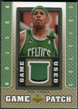 2007/08 Upper Deck UD Game Patch #PP Paul Pierce