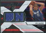 2008/09 Upper Deck SPx Winning Materials #WMIDN Dirk Nowitzki