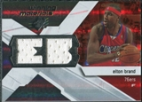 2008/09 Upper Deck SPx Winning Materials #WMIEB Elton Brand